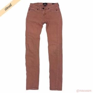 [BDG] Pink Mid Rise Cigarette Ankle Jeans
